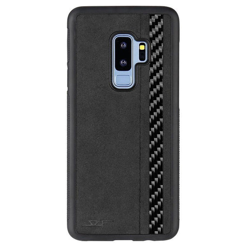 Samsung Galaxy S9+ Alcantara & Real Carbon Fibre Phone Case Classic Series