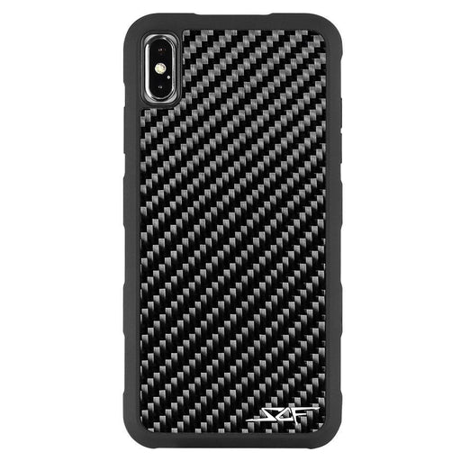 Apple iPhone XS Max Real Carbon Fibre Phone Case Armor Series