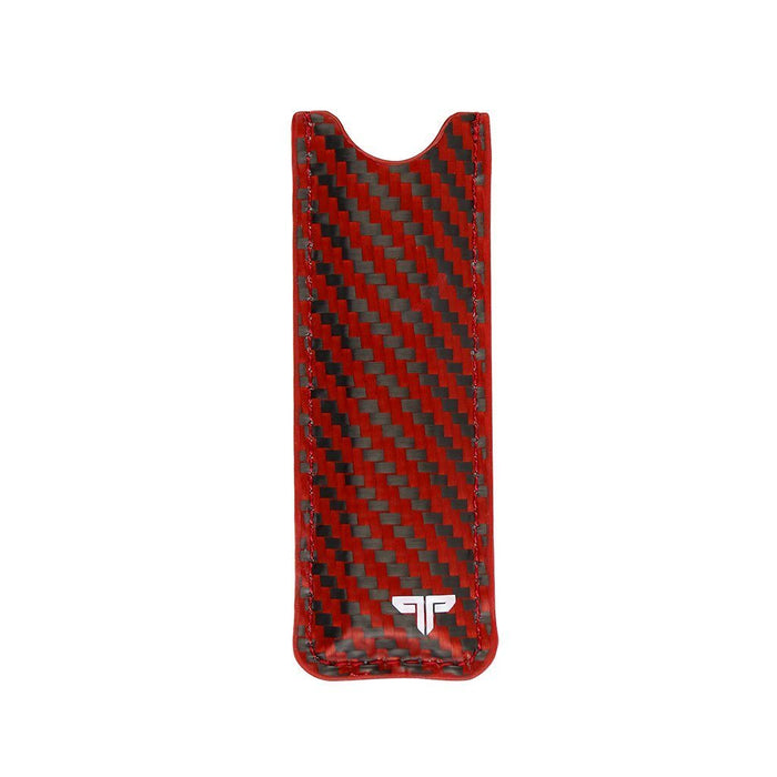 Real Red Carbon Fibre Juul Sleeve (Papamitrou Exclusive Collab Limited To 300)