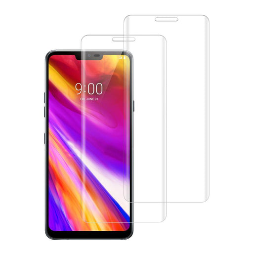 LG G7 Thinq Shatterproof 3D Curve Screen Guard (2 Pack)