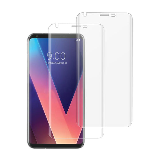 LG V30 Shatterproof 3D Curve Screen Guard (2 Pack)