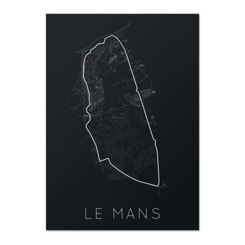 An Enduring Tradition – Le Mans Unframed Poster