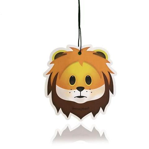 Lion Emoji Car Air Freshener