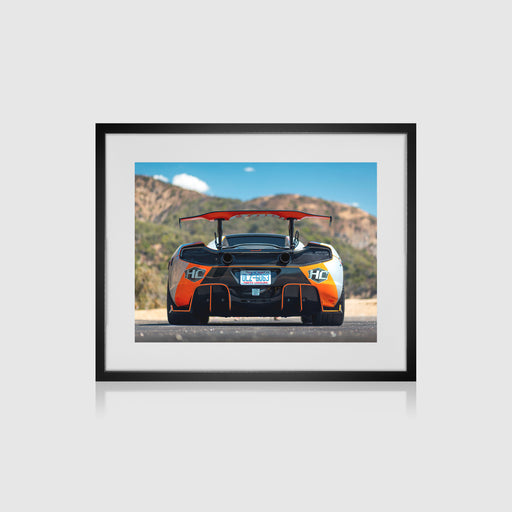 Mclaren MP4-12C Framed Print