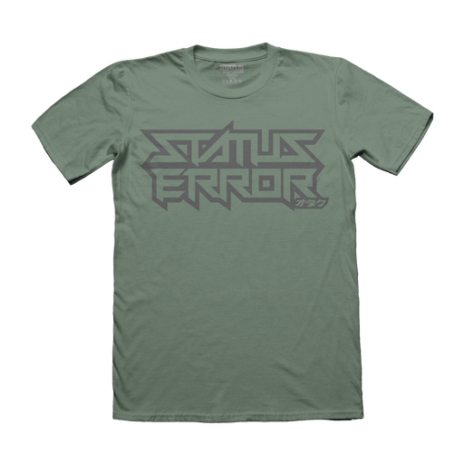 Status Error New Logo T-Shirt (Military Green)