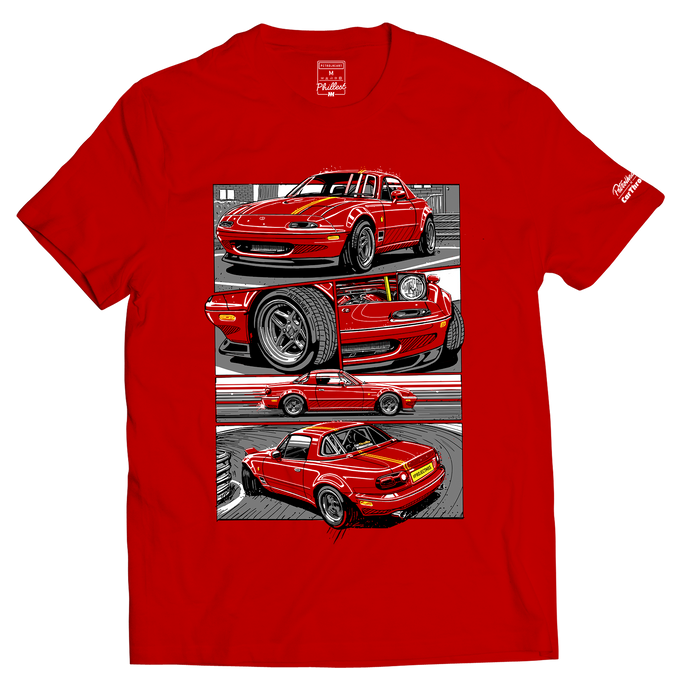 Petrolheart x Car Throttle Phil T-shirt