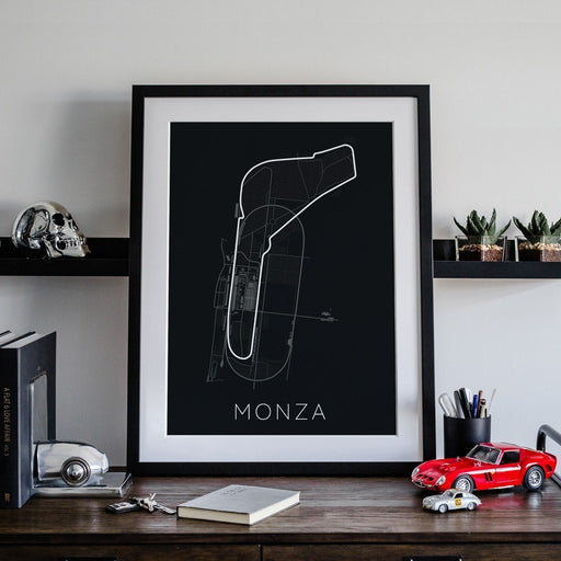 Full -Throttle Formula 1 – Monza Framed Poster