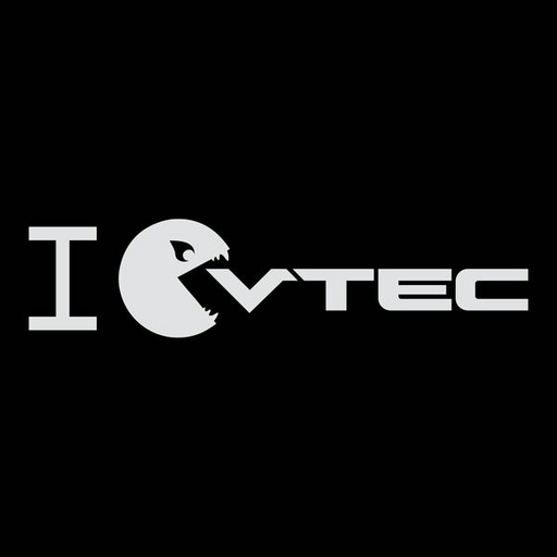 Pac-Man VTEC Sticker