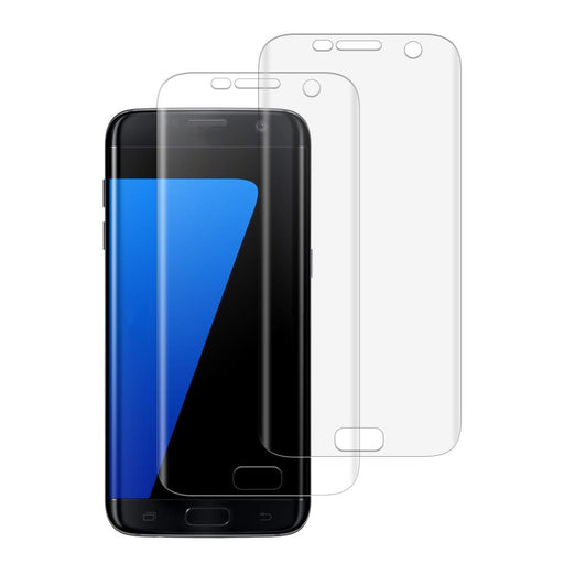 Samsung Galaxy S7 Edge Shatterproof 3D Curve Screen Guard (2 Pack)