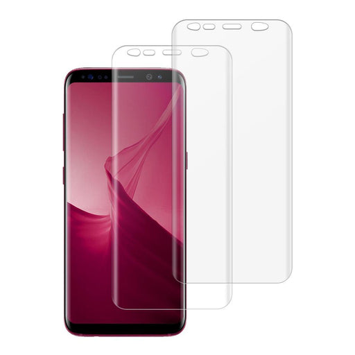 Samsung Galaxy S8 Shatterproof 3D Curve Screen Guard (2 Pack)