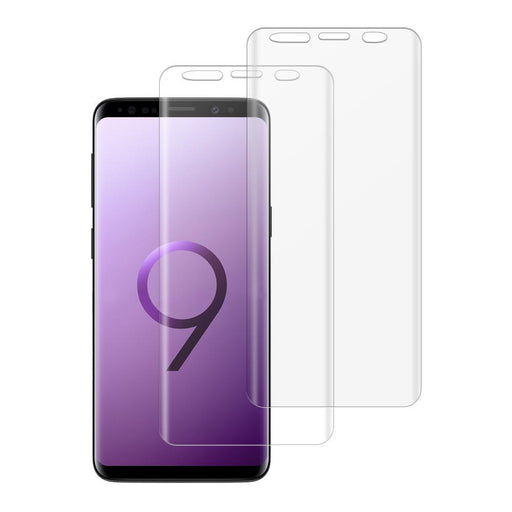 Samsung Galaxy S9 Shatterproof 3D Curve Screen Guard (2 Pack)