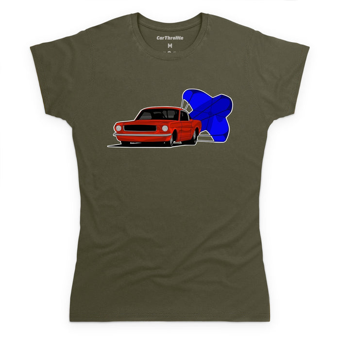 Mustang Drag Car T-Shirt