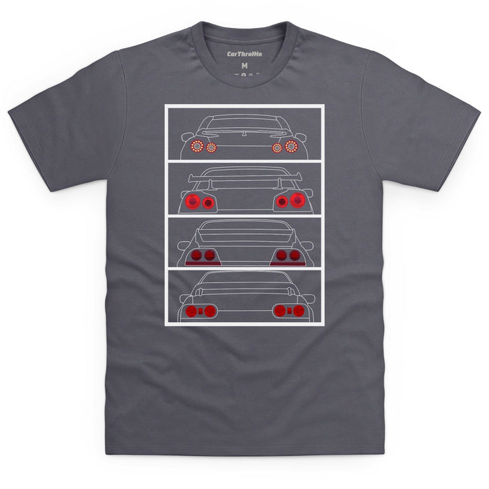 GT-R Tail Lights T-Shirt