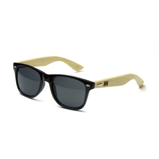 Car Throttle Bamboo Engraved Sunglasses