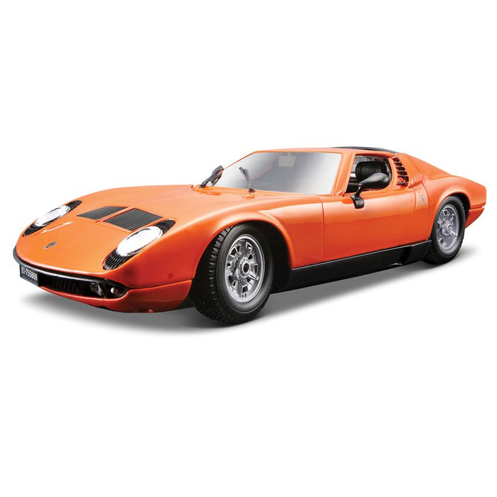 Bburago 1 18 1968 Lamborghini Miura Die Cast Model Car Throttle Shop