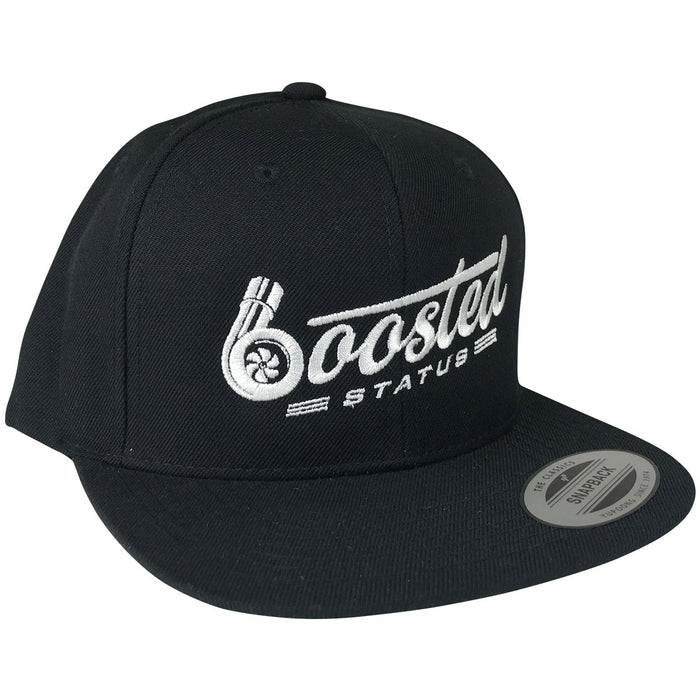 Boosted Status Snapback Hat - OG White