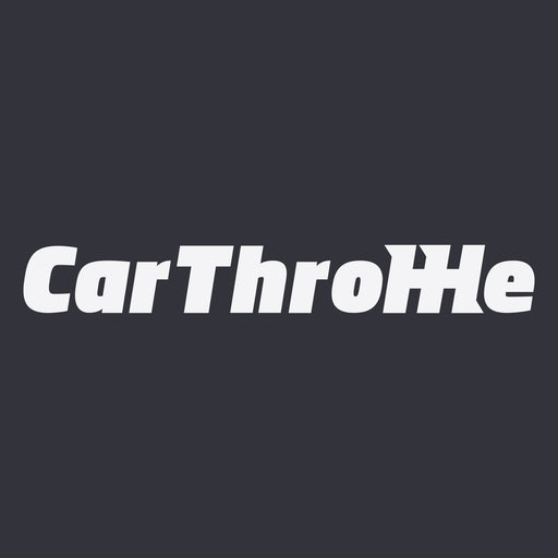 Car Throttle Logo Sticker