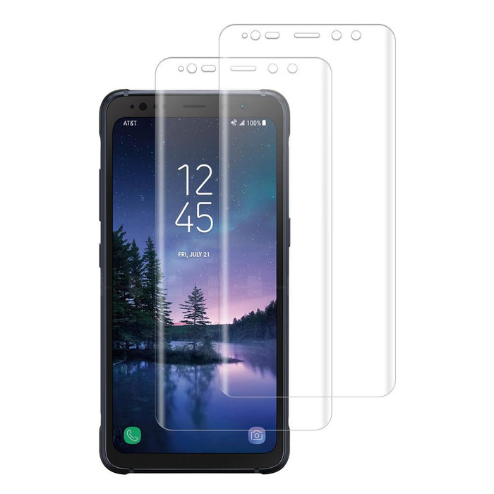 Samsung Galaxy S8 Active Shatterproof 3D Curve Screen Guard (2 Pack)