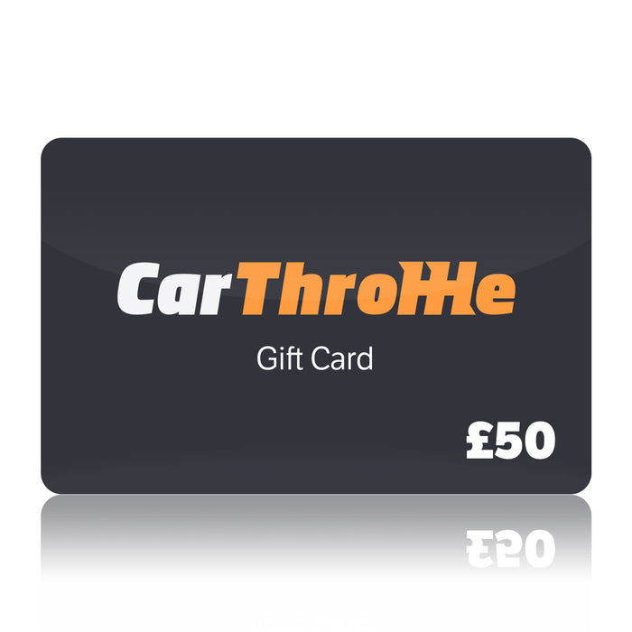 Car Throttle Gift Card