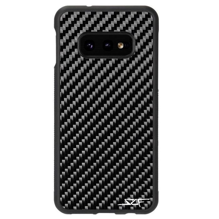 Samsung Galaxy S10e Real Carbon Fibre Phone Case Classic Series
