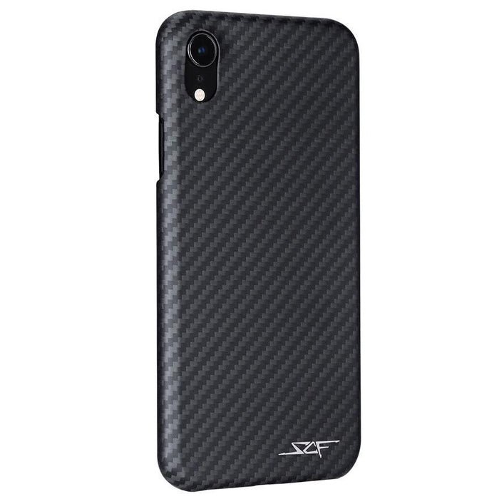 Apple iPhone XR Carbon Fibre Phone Case Ghost Series