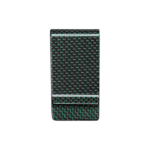 Green Carbon Fibre Money Clip (Limited To 100)