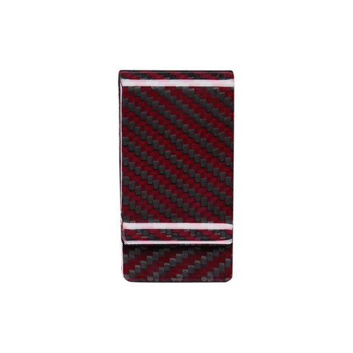 Red Carbon Fibre Money Clip