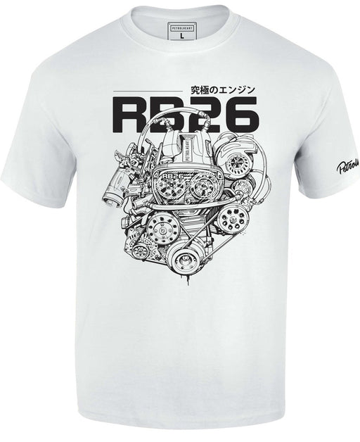 RB26 Engine T-Shirt