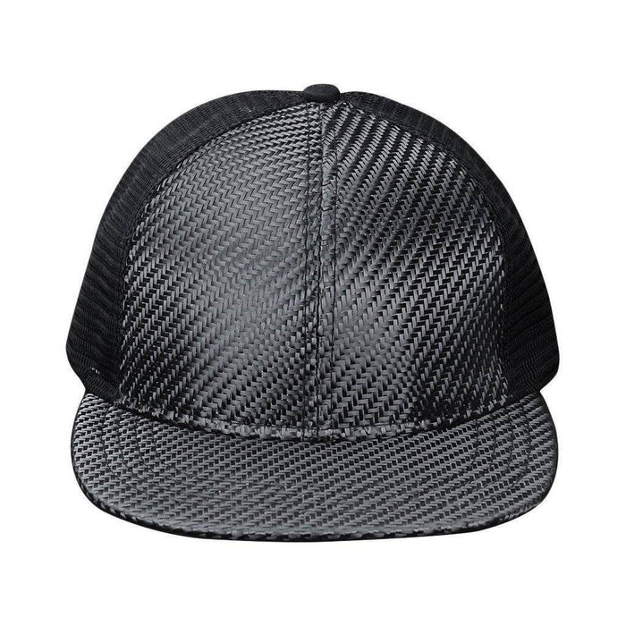 Real Carbon Fibre Hat (Mesh Back)