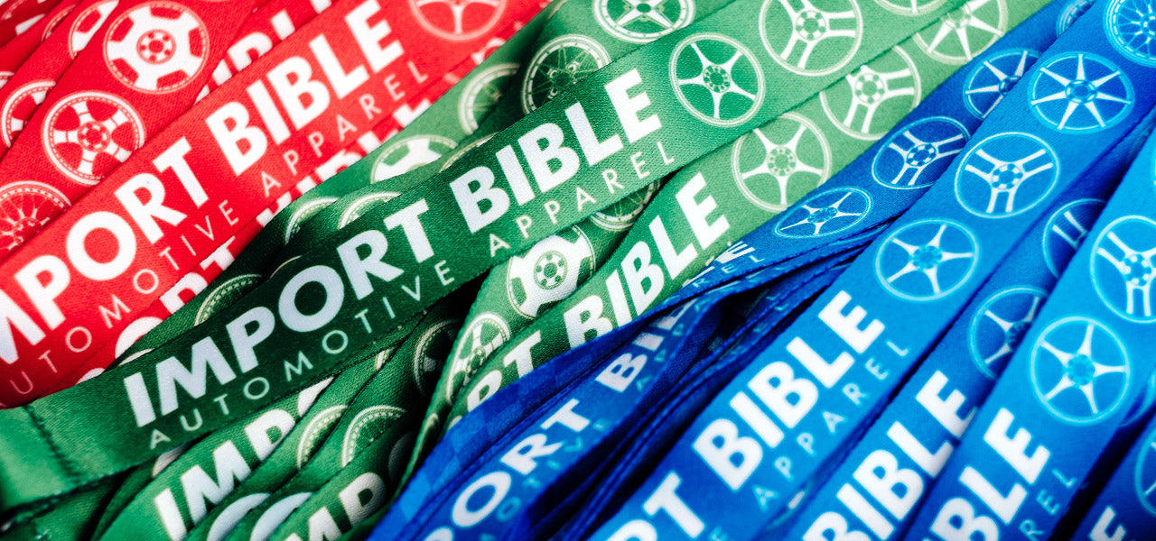 Import Bible Lanyard