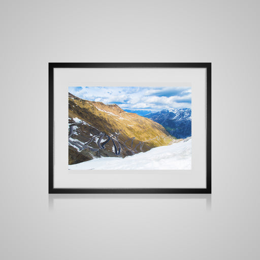 Stelvio Pass Framed Print