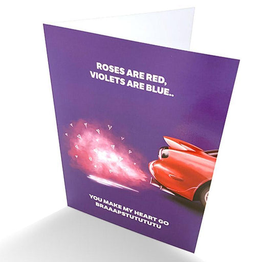 RX7 Greetings Card