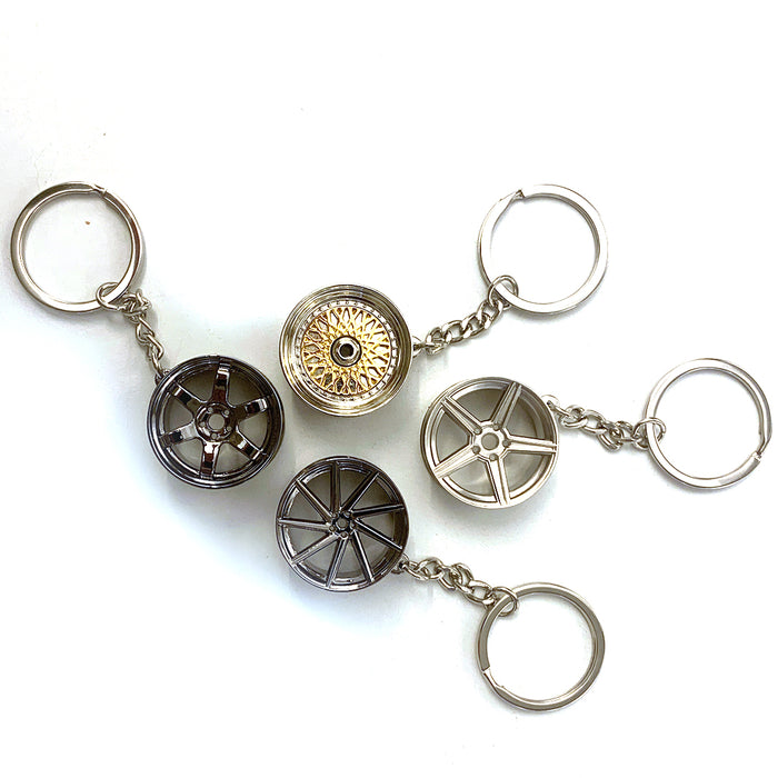 Wheel Keychain Bundle