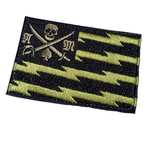 American Marauder OD Flag Patch Patches American Marauder