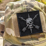 Nous Defions Embroidery Patch Patches American Marauder