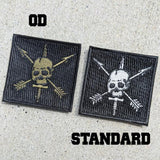 Nous Defions OD Embroidery Patch Patches American Marauder