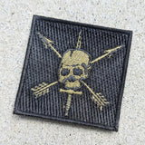 Nous Defions OD Embroidery Patch Patches American Marauder Nous Defions OD 2x2 Patch