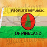 People's Republic of Pineland Flag - American Marauder