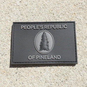 Peoples Republic of Pineland (PRP) Black PVC Patch - American Marauder