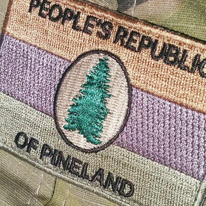 People's Republic of Pineland (PRP) OD Patch - American Marauder