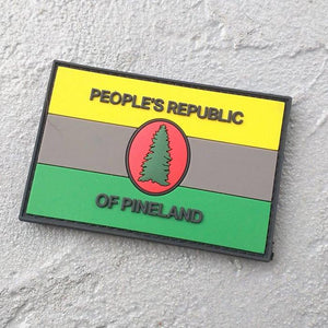 People's Republic of Pineland (PRP) PVC COLOR Patch - American Marauder