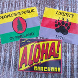People's Republic of Pineland (PRP) Sticker - American Marauder