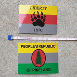 Pineland Resistance Force (PRF) Sticker - American Marauder