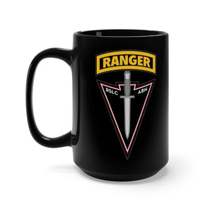Reconnaissance and Surveillance Leaders Course 15oz Black Mug Mug Printify 15oz