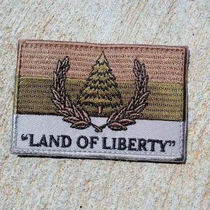 Republic of Pineland Flag Patch - OD - American Marauder