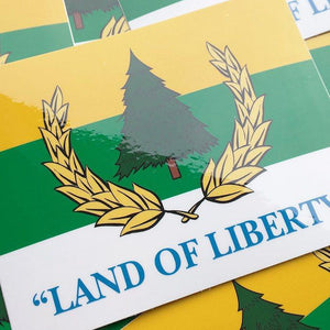 Republic of Pineland Flag Sticker - American Marauder