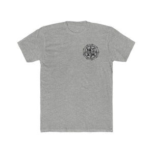 SERE Left Chest Logo Shirt Shirts Printify Heather Grey L