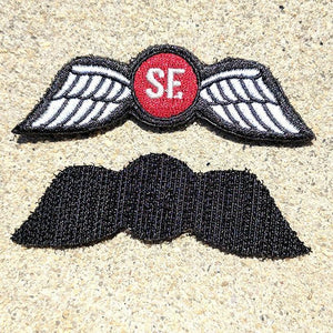 SF Jedburgh Teams Embroidered COLOR Patch - American Marauder