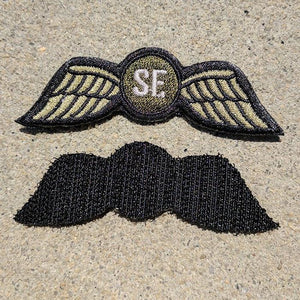 SF Jedburgh Teams Embroidered OD Patch - American Marauder