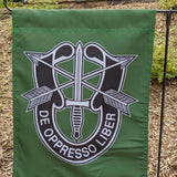 Special Forces Crest Garden Flag Flags American Marauder